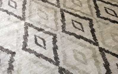 Viscose Rug Before and After
